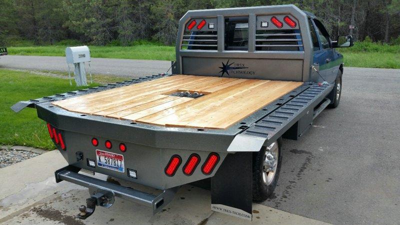 Resized Orig on Dodge 2500 Long Bed Flatbed
